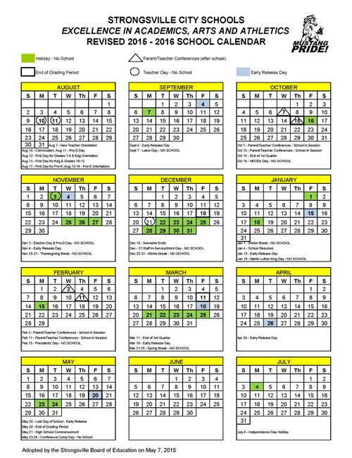 2016 School Calendar | Fotolip.Com Rich Image And Wallpaper