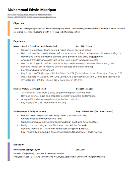 Best Resume Format | Fotolip.com Rich image and wallpaper
