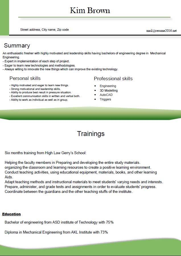 engineering cv template engineering cv template for excel pdf and