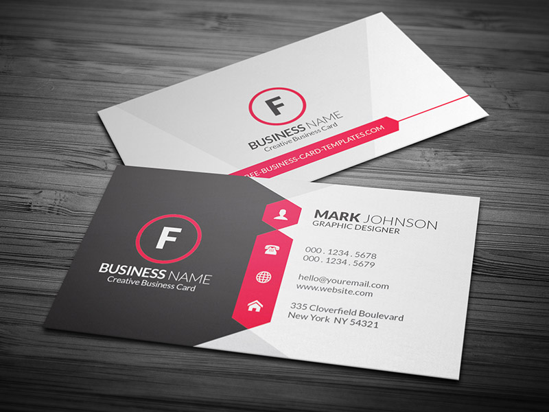 Business card template fotolip rich image and wallpaper business card template fbccfo Gallery