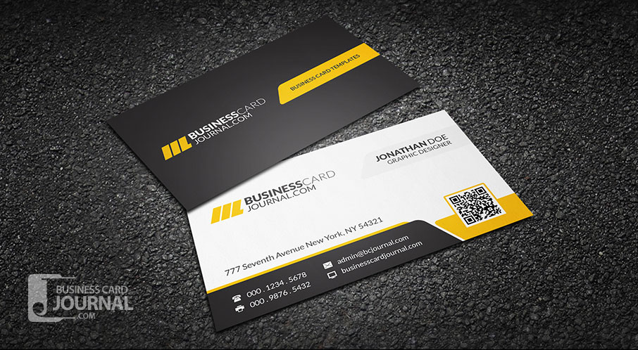 Business Card Design Free Template