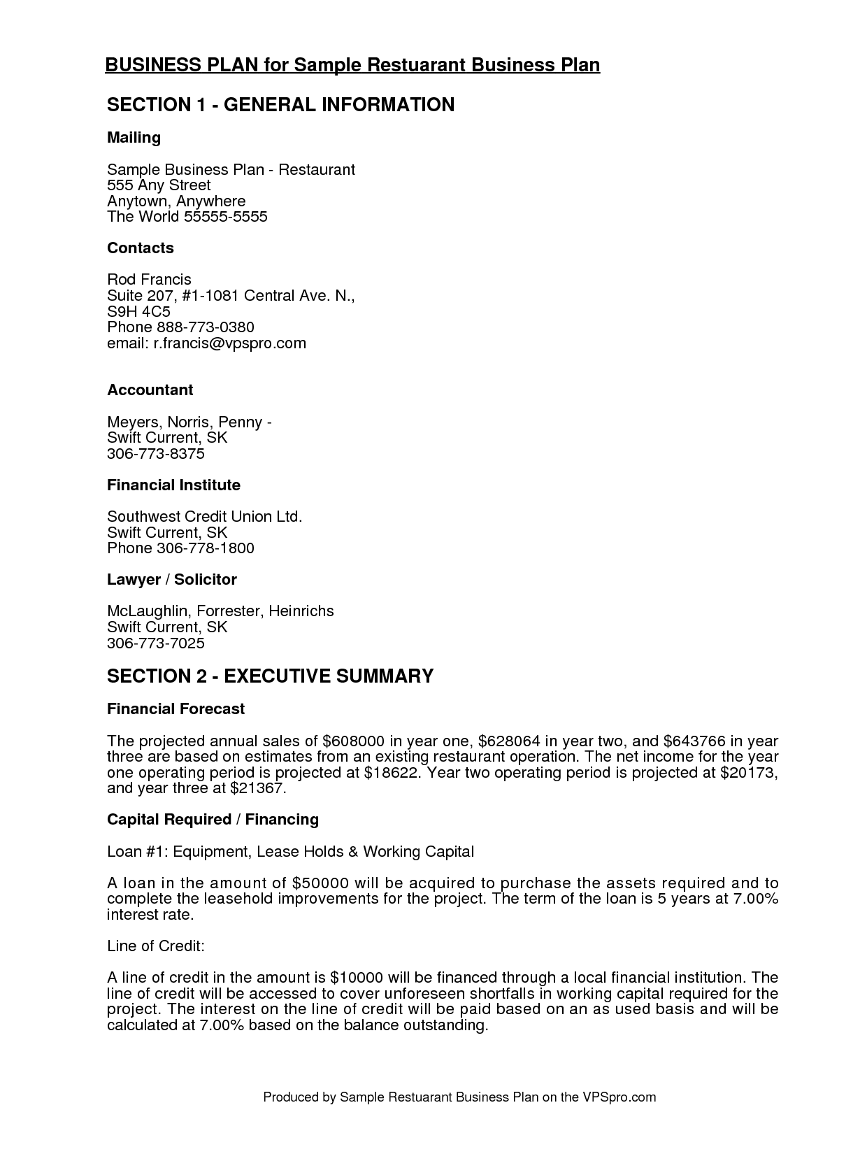 Free business plan structure 12 volt resume