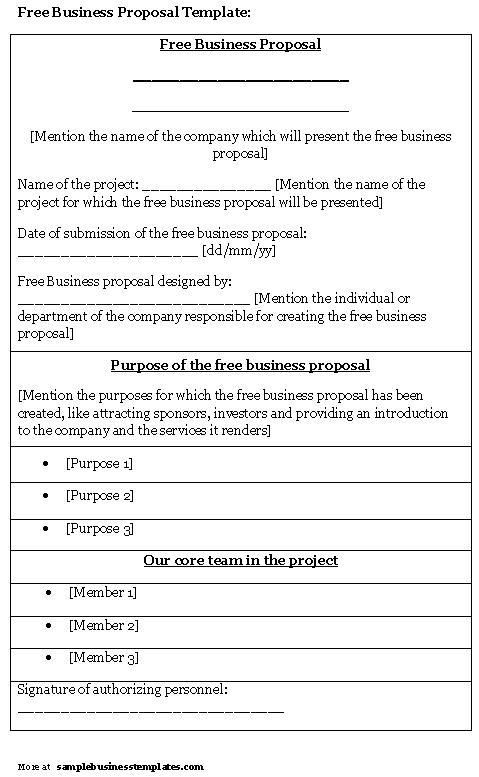 Business Proposal Template  FotolipCom Rich Image And Wallpaper