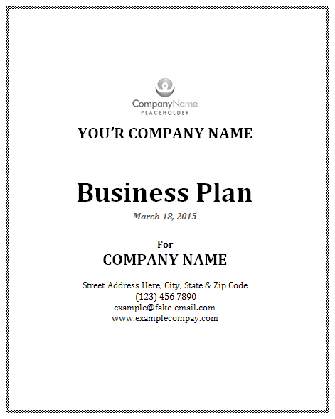 Business Plan Template Fotolipcom Rich Image And Wallpaper - Full business plan template