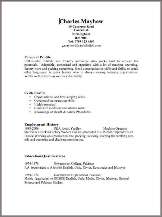 CV Templates