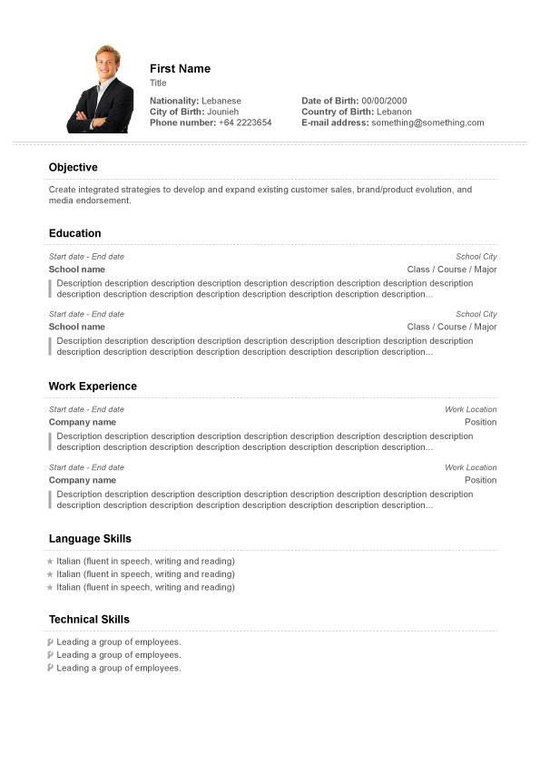 free resume templates download sample resume template word cv templates fotolip com rich image and wallpapercv templates
