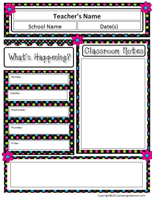 classroom newsletter template fotolip com rich image and wallpaper