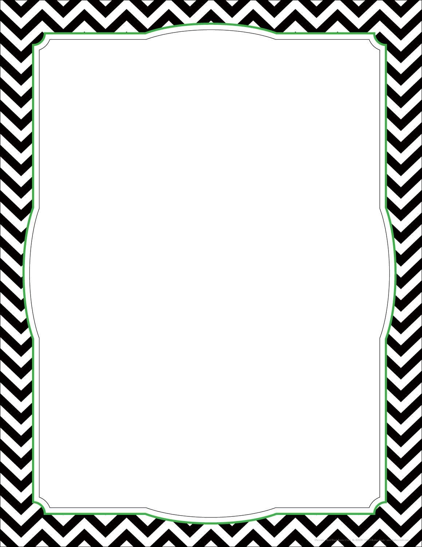 Clipart borders