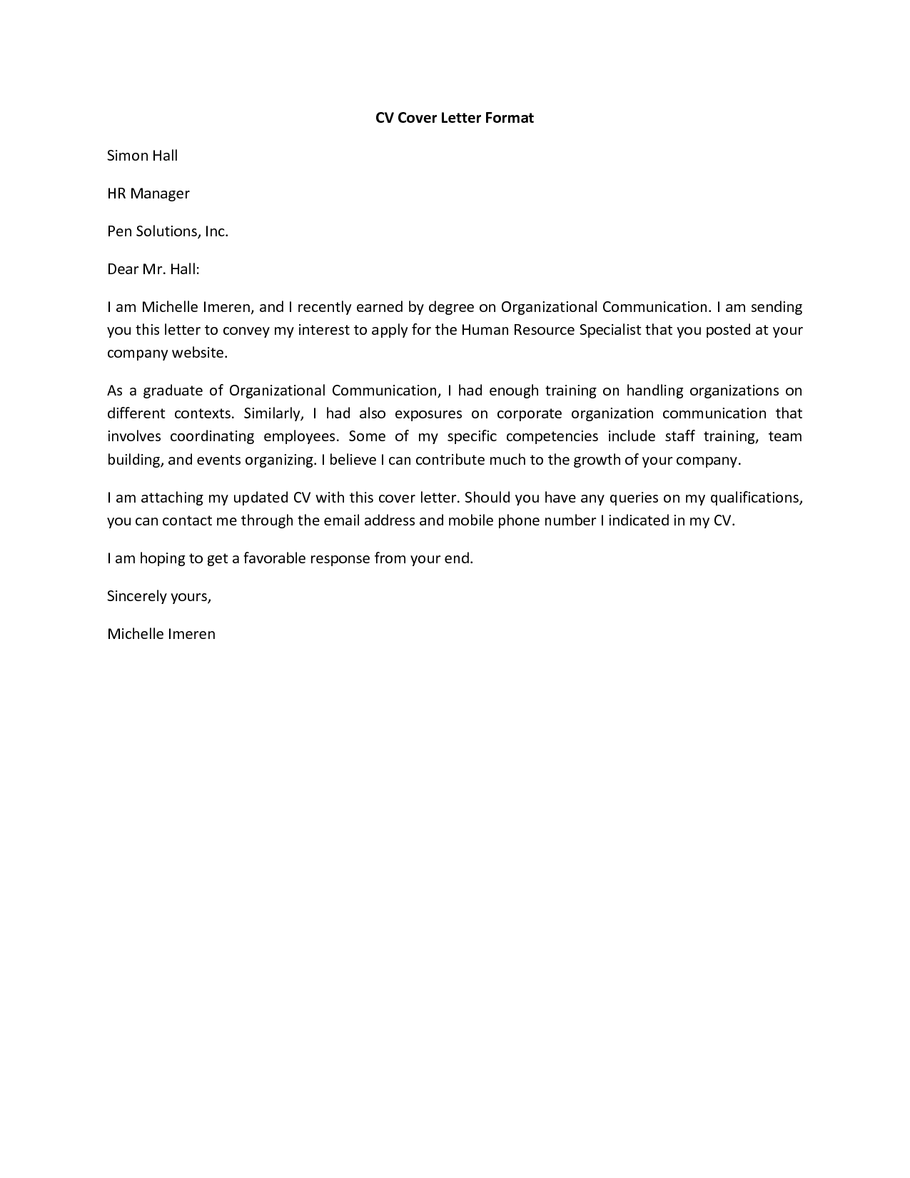 Beau Cover Letter For Resume