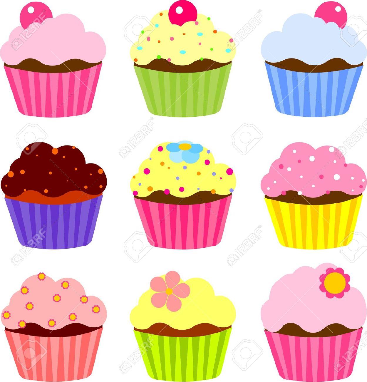 Cupcakes Clipart - Fotolip