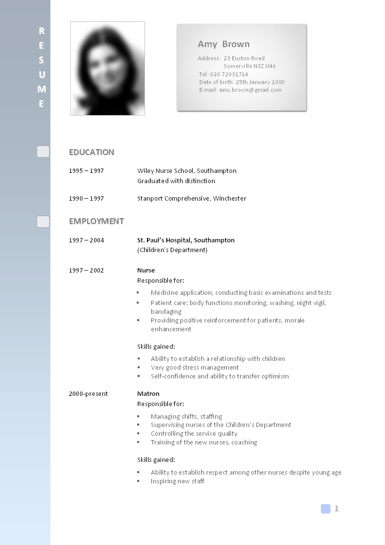 resume resume or curriculum vitae samples