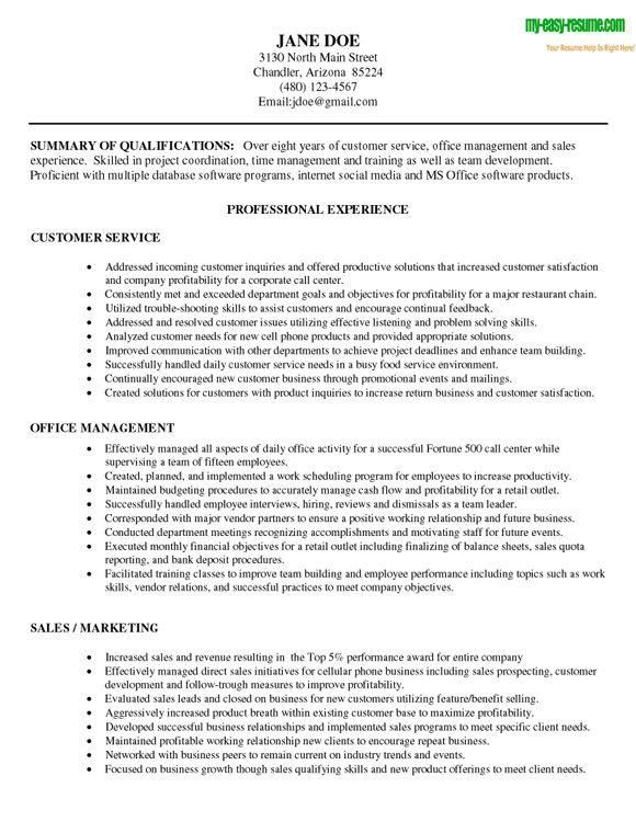 customer service representative resume samples financial service free sample resume cover boxip net