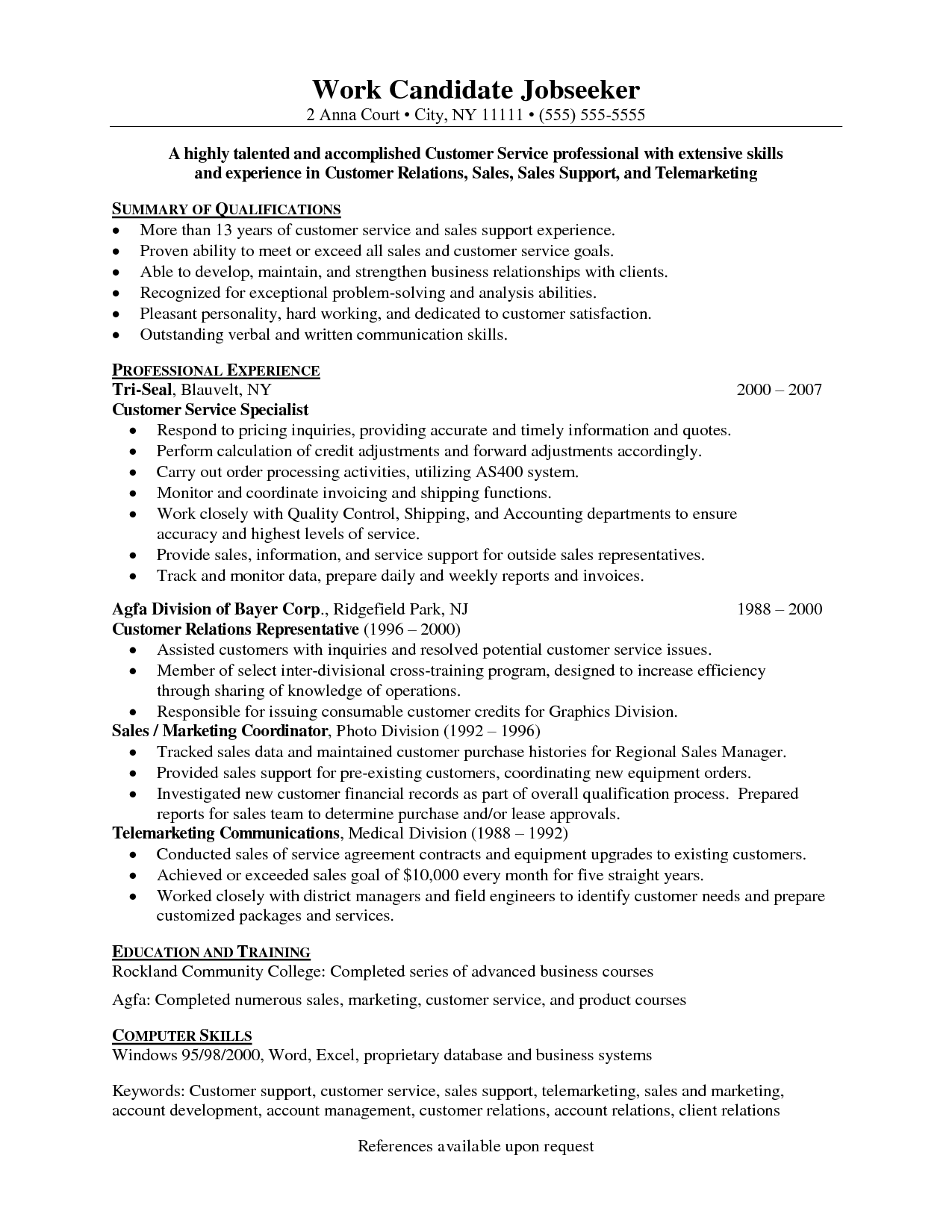 customer relations officer sample resume affidavit templates customer service resume 34 customer relations officer sample resumehtml