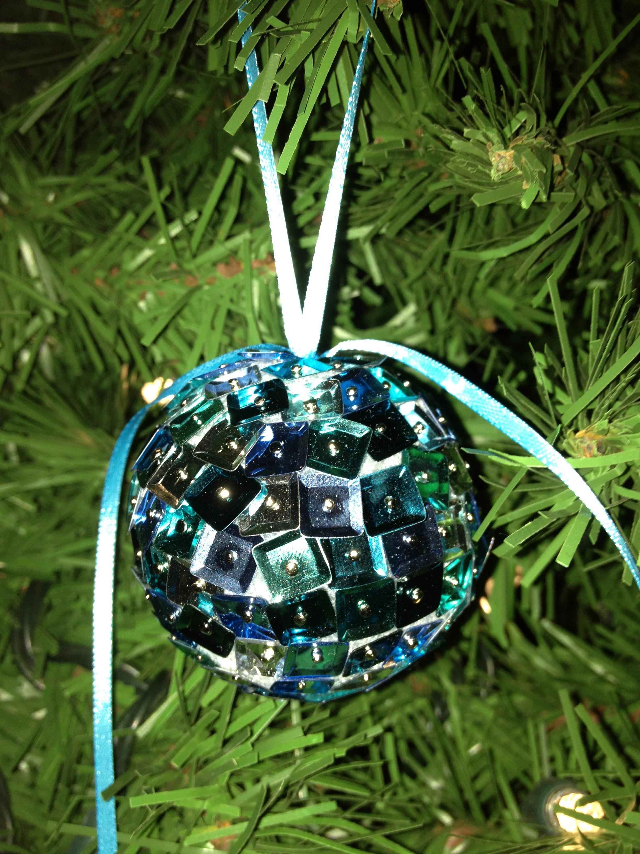 Easy christmas ornaments rich image and for Homemade christmas ornaments to make