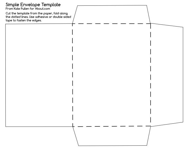 Envelope Template
