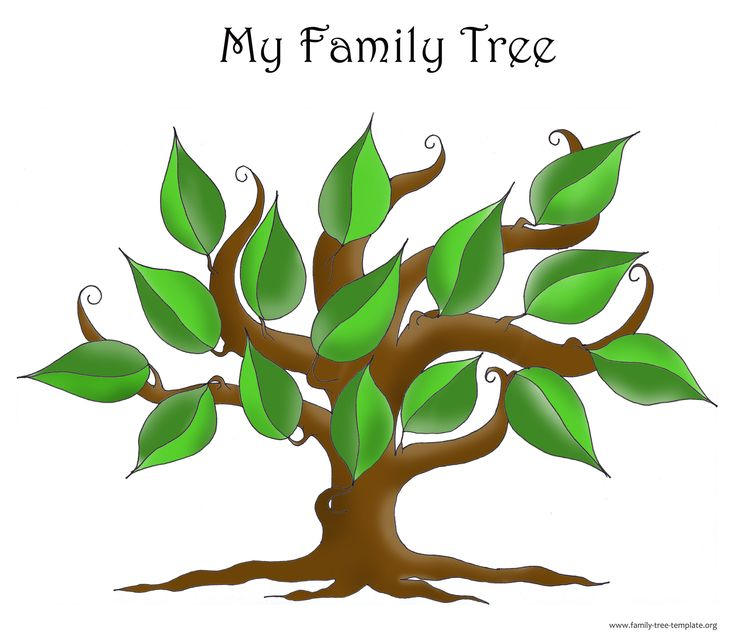 Family Tree Template | Fotolip.com Rich image and wallpaper