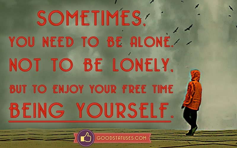 Feeling Alone Status Fotolip Com Rich Image And Wallpaper