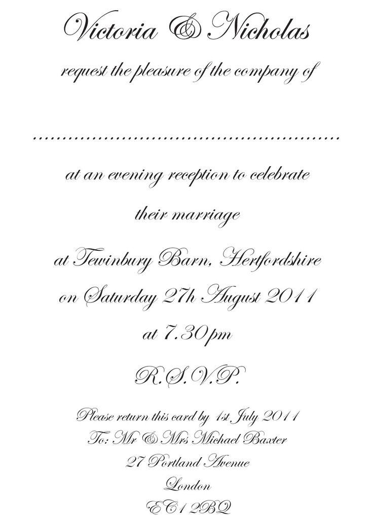 formal wedding invitation wording  fotolip rich image and, invitation samples
