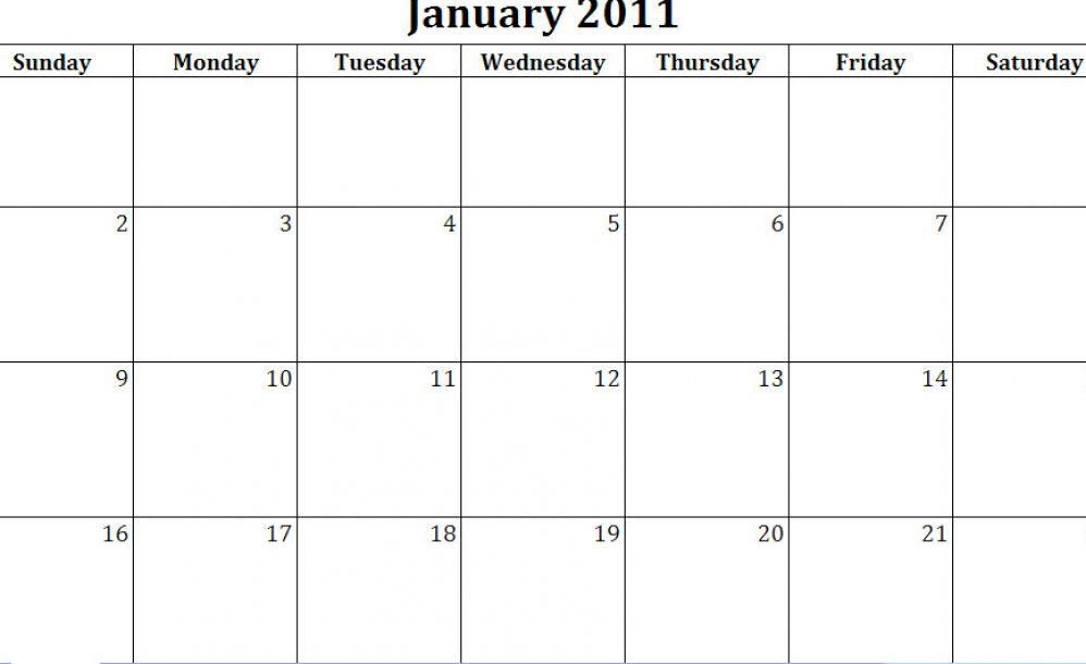 Free Calendar Templates Fotolip Rich Image And Wallpaper
