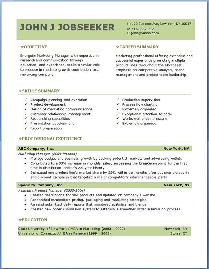 download free resumes amp beautiful resume templates to hongkiat ...