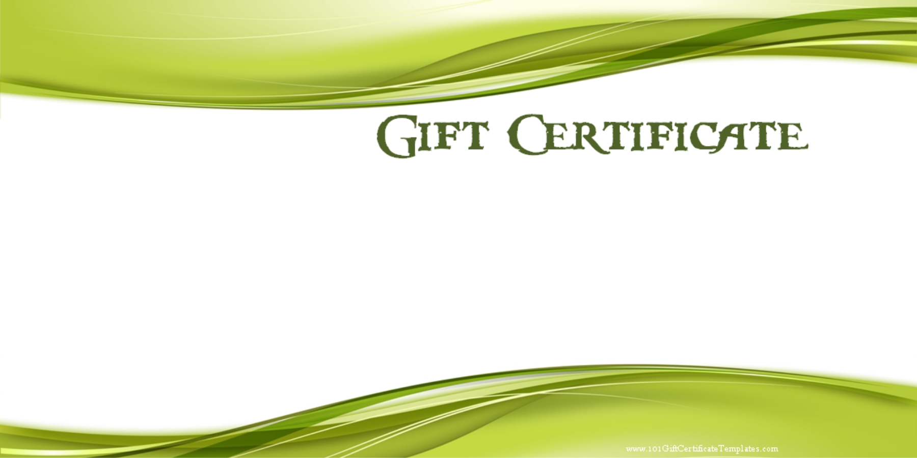 Gift Certificate Template  How To Create A Gift Certificate In Word