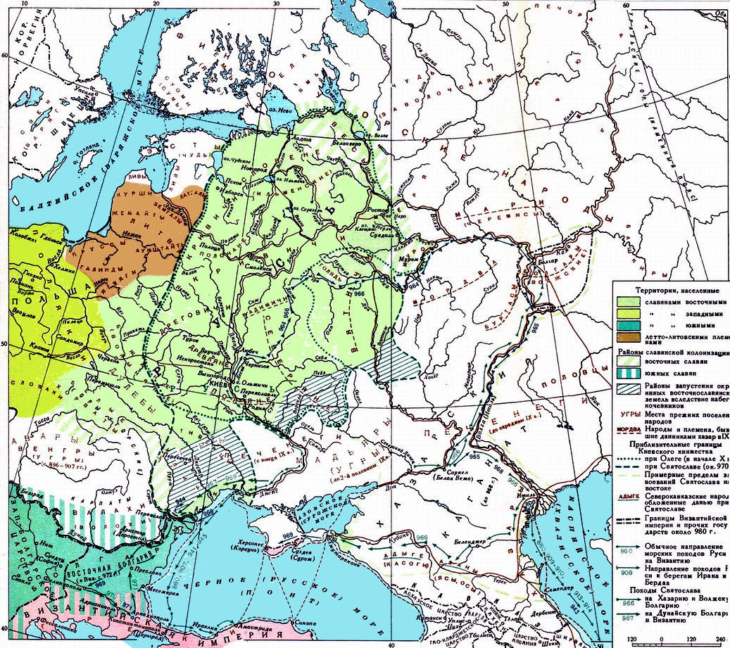 Historical Maps of Russia