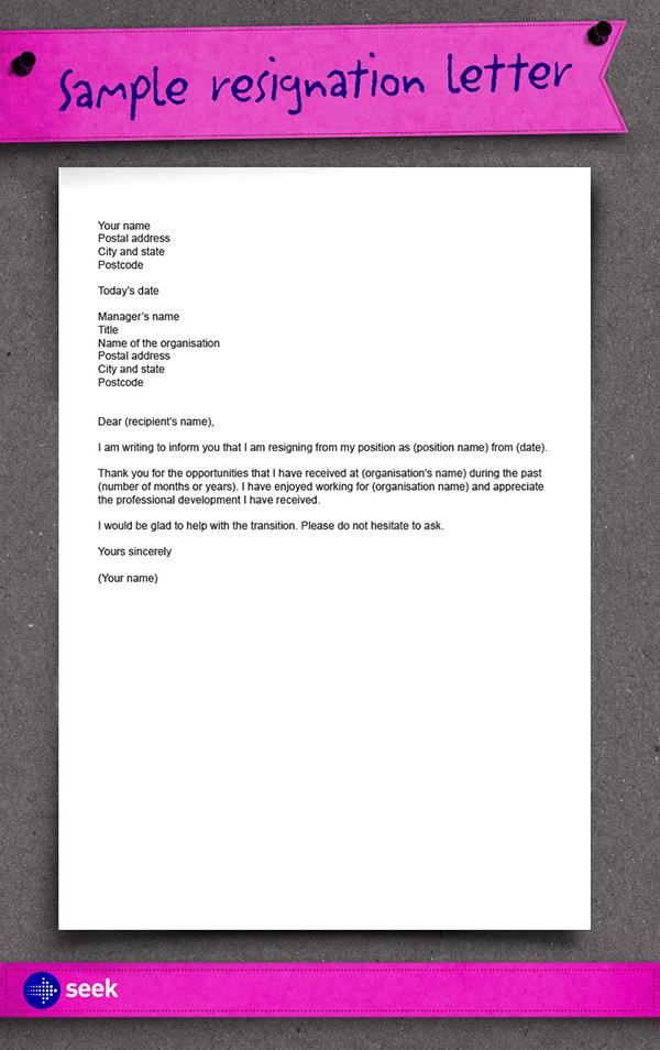How-to-Write-a-Resignation-Letter-10 Cover Letter For Job Application Admin on south africa, practice management, real or potential, no experience,