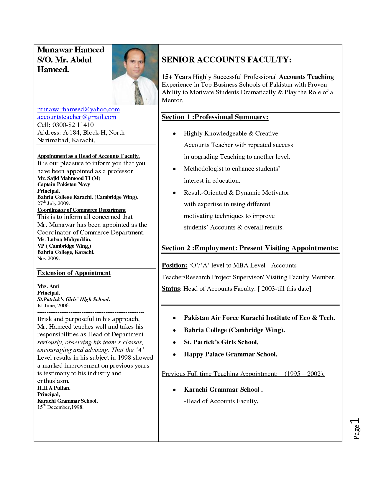 how to make resumes