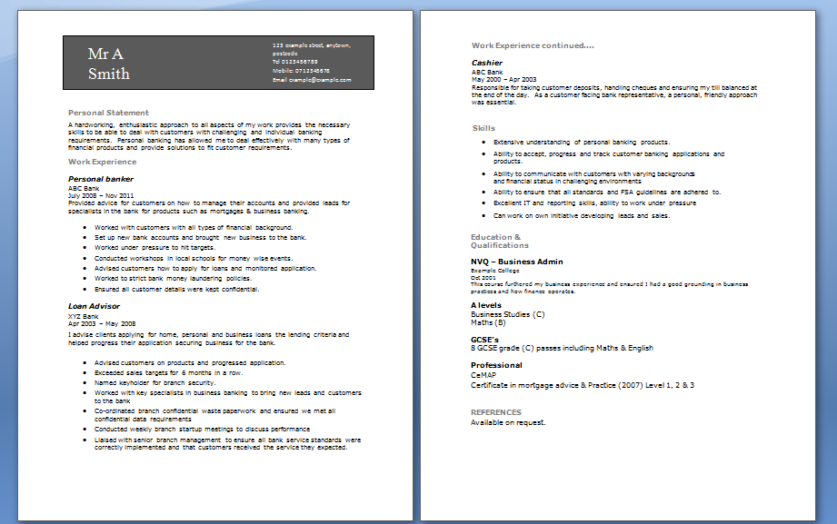 good cv sample teenager a sample business resume write good resume - Tips To Write A Good Resume