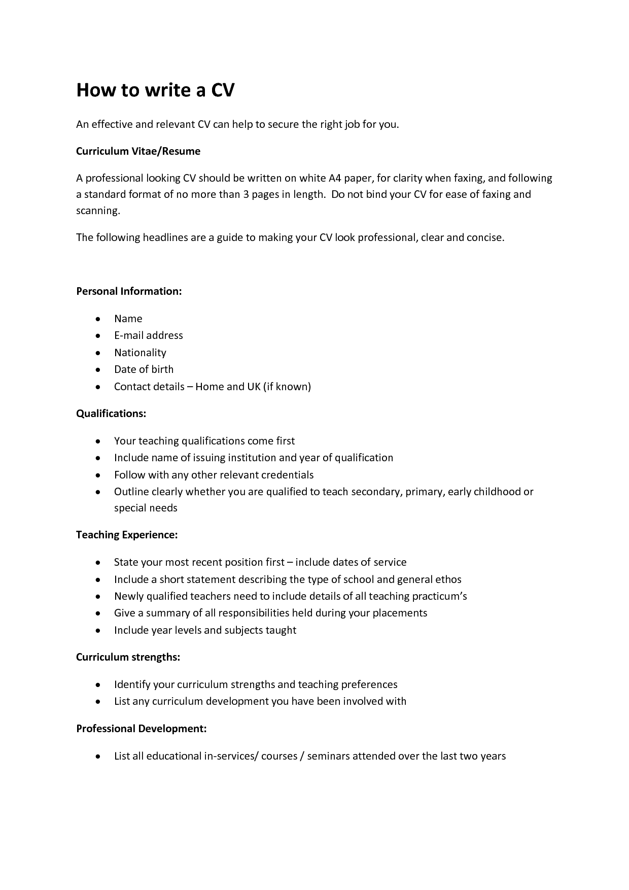 how do i write a resume how to write a cv fotolip rich image and wallpaper 22141 | How to write a CV 2