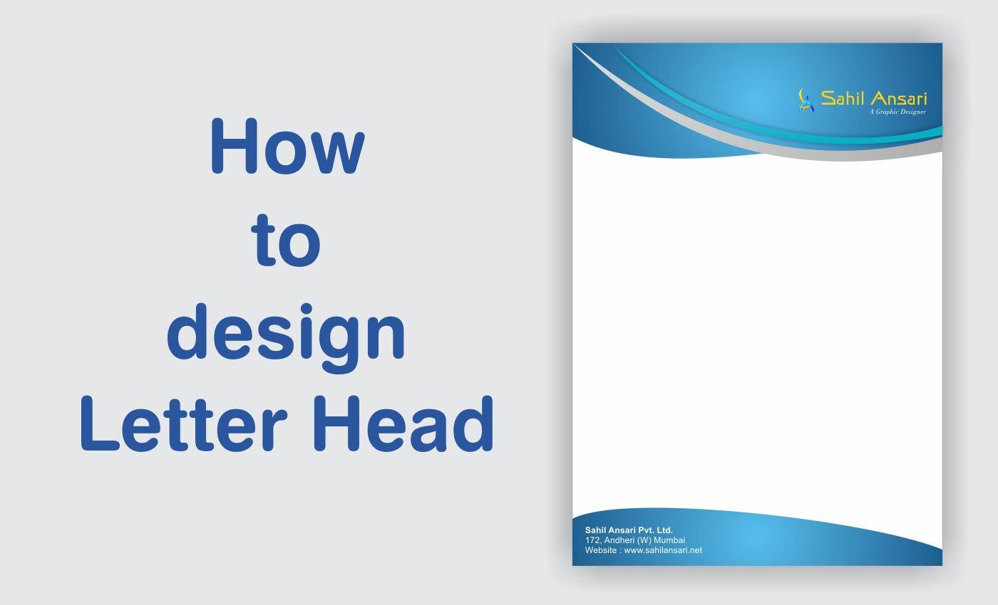 letter head design