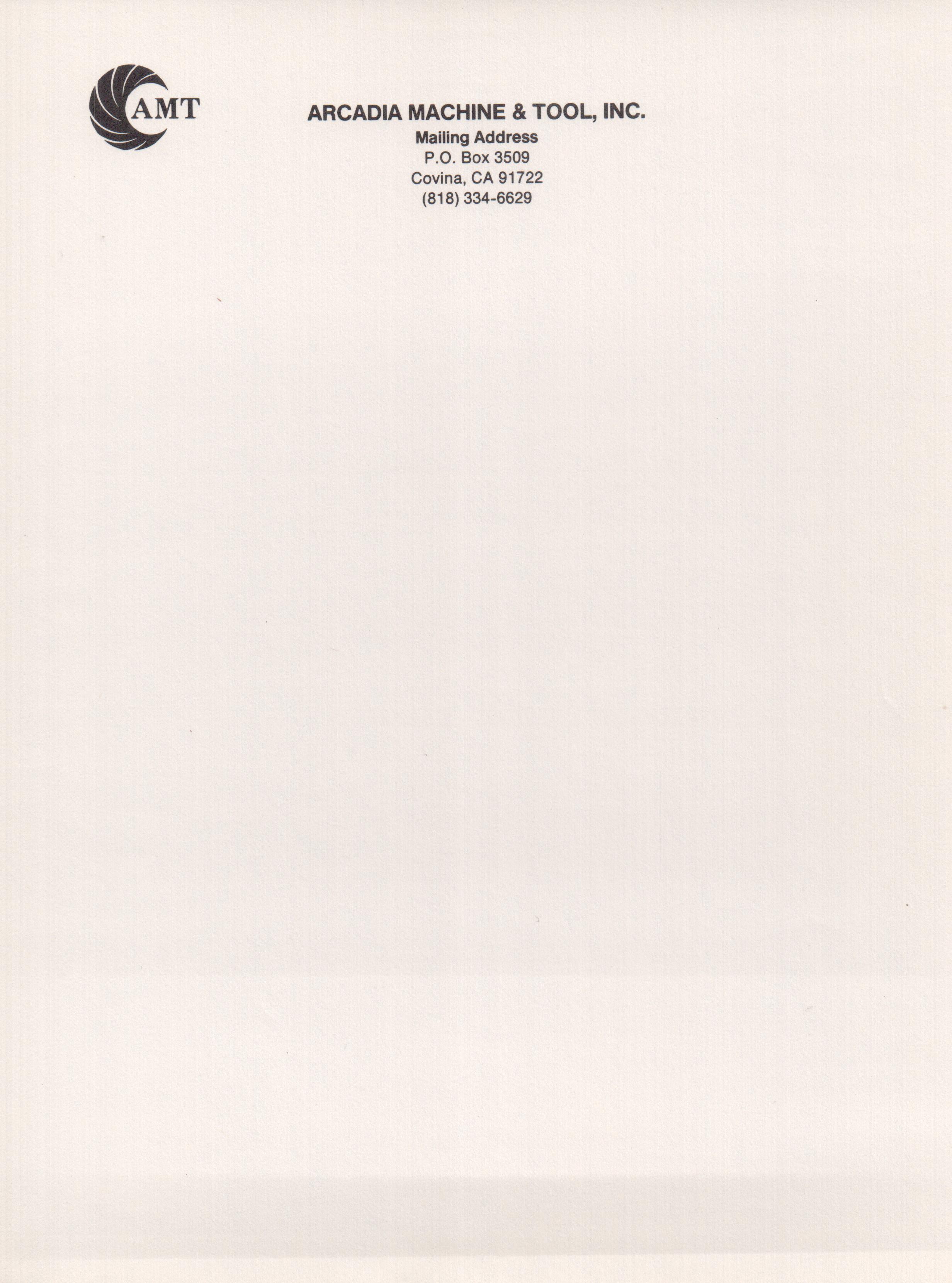 Letter Headed Paper