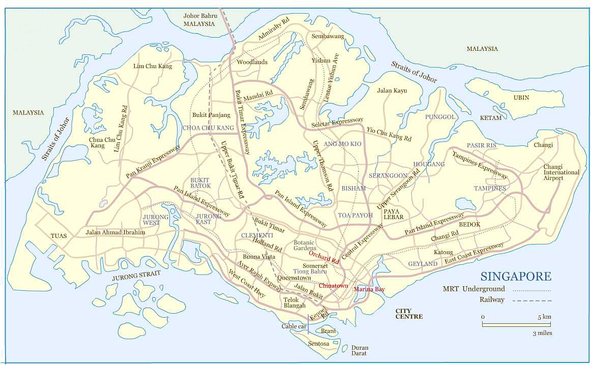 Map Of Singapore Fotolipcom Rich Image And Wallpaper - Map od