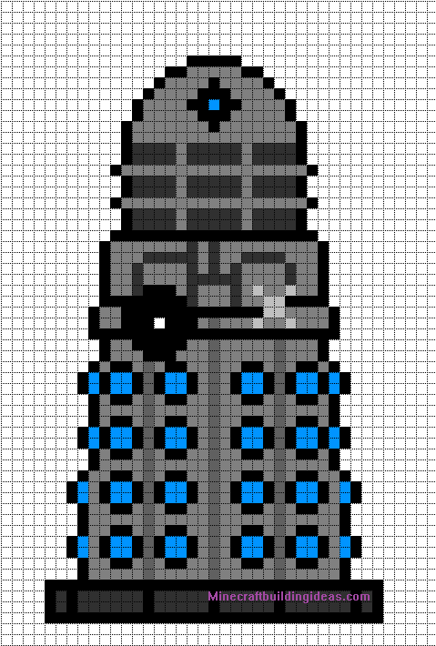 Minecraft-Pixel-Art-Templates-2 Pixel Art Minecraft Template @koolgadgetz.com.info