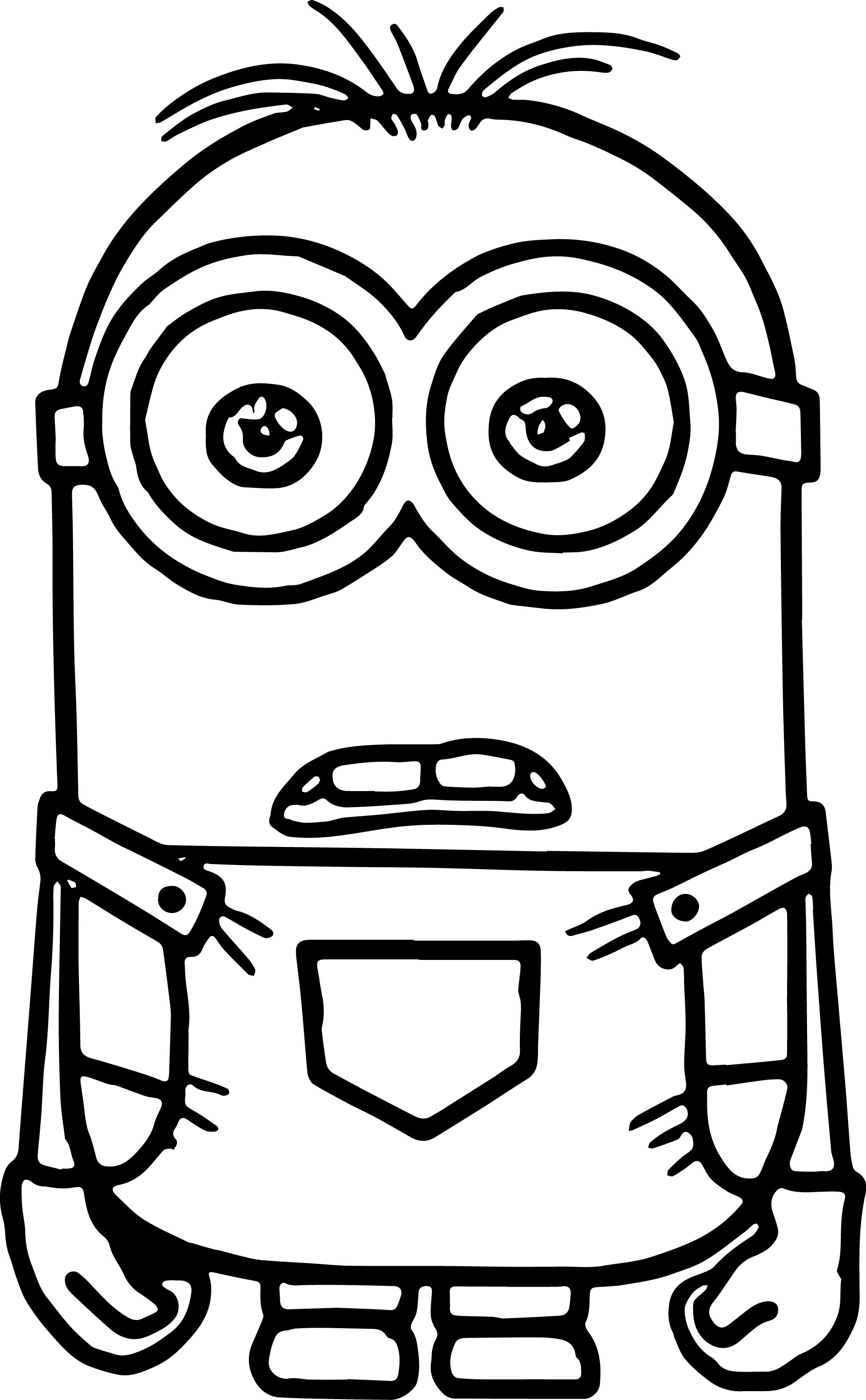 Minion Coloring Pages Fotolip