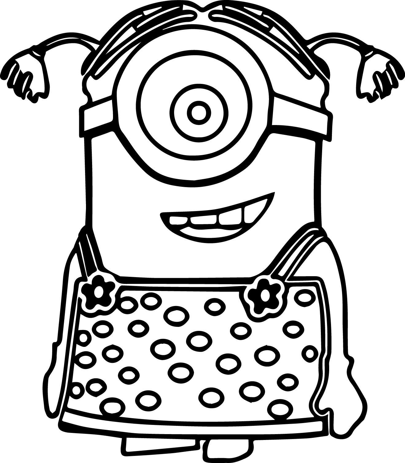 Minion Coloring Pages