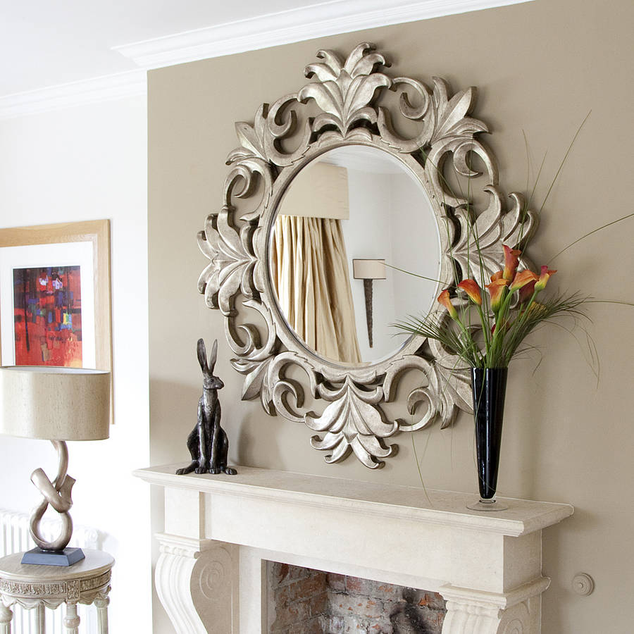 Mirror Decorating Ideas - Fotolip