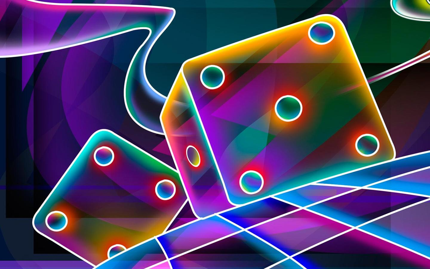 Cool 3D Neon Wallpapers