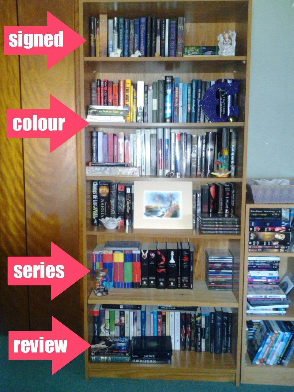 Organize Your Shelves