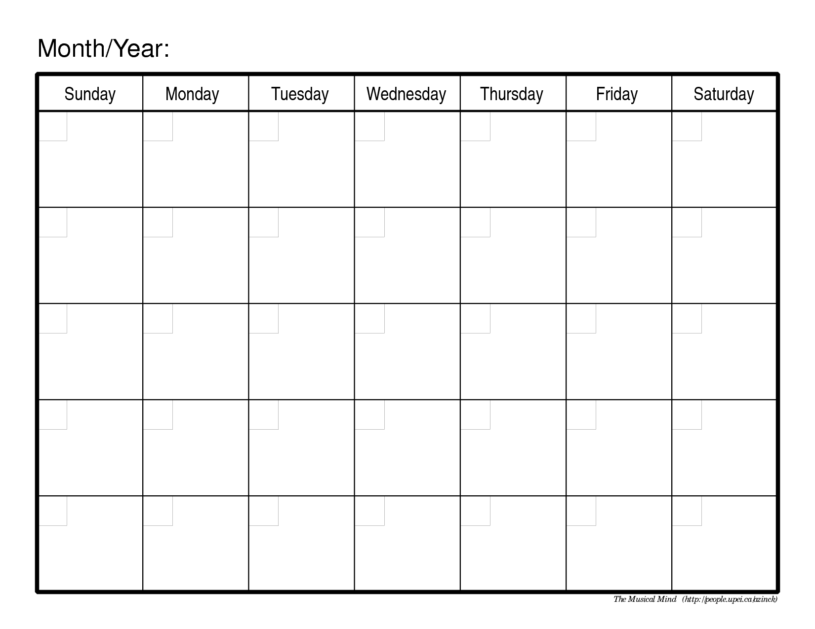 Printable Calendar | Fotolip.com Rich image and wallpaper