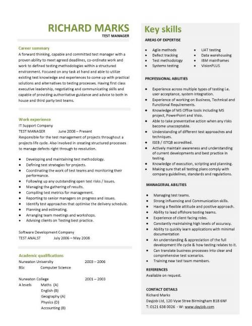 Professional Resume Template  FotolipCom Rich Image And Wallpaper