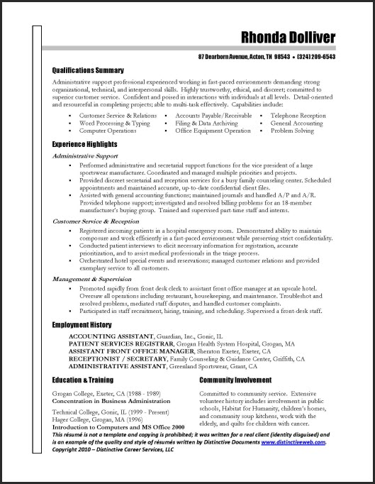 Resume Format Samples. Resumes Example Resume Samples For Resume ...