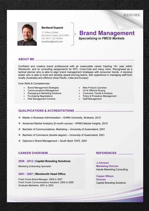 professional resume template fotolipcom rich image and wallpaper resume example for it professional - Professional Resume Format