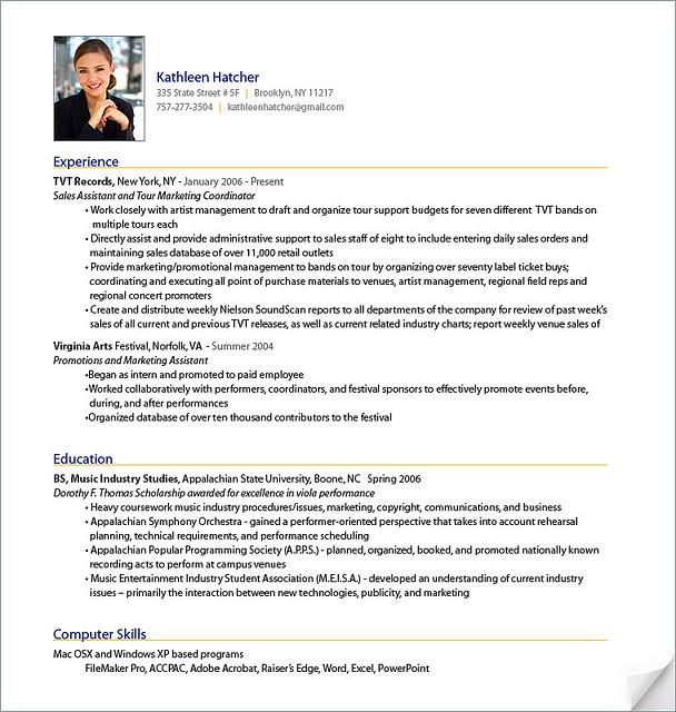Professional Resume Template - Fotolip