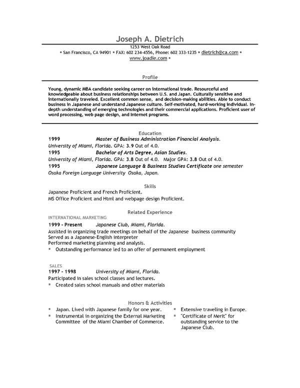 Free Resume Templates Microsoft Word Learnhowtoloseweight Net Free
