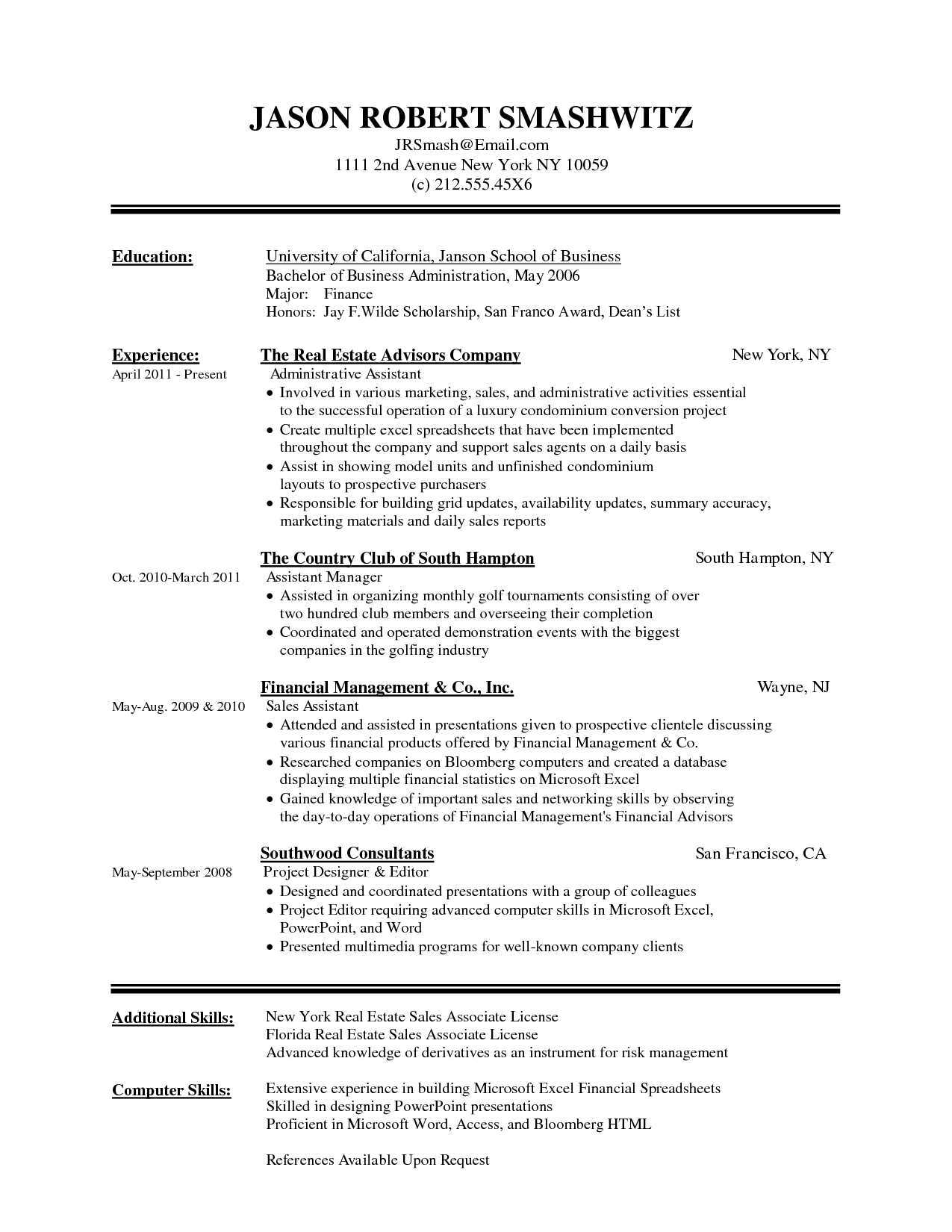 High School Resume Template Microsoft Word | Resume Templates and ...