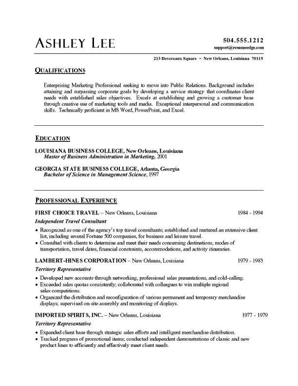 Word Resume Templates. Free Microsoft Word Doc Professional Job