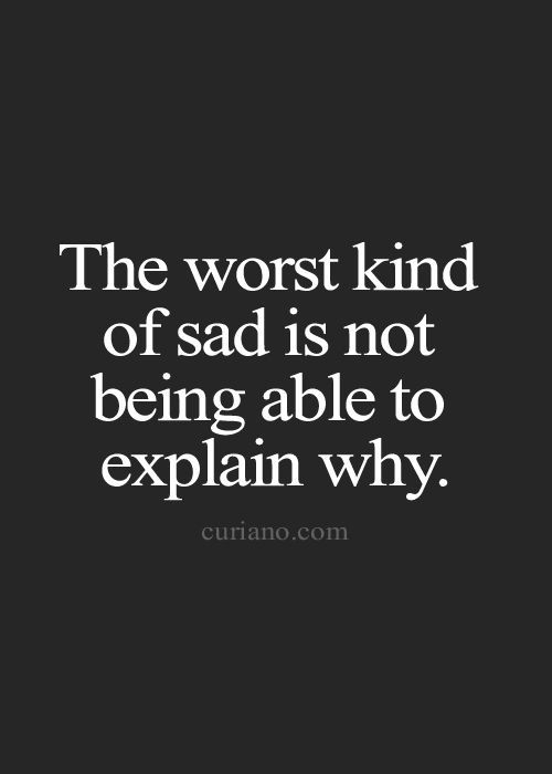 The Impression of Sad Quotes