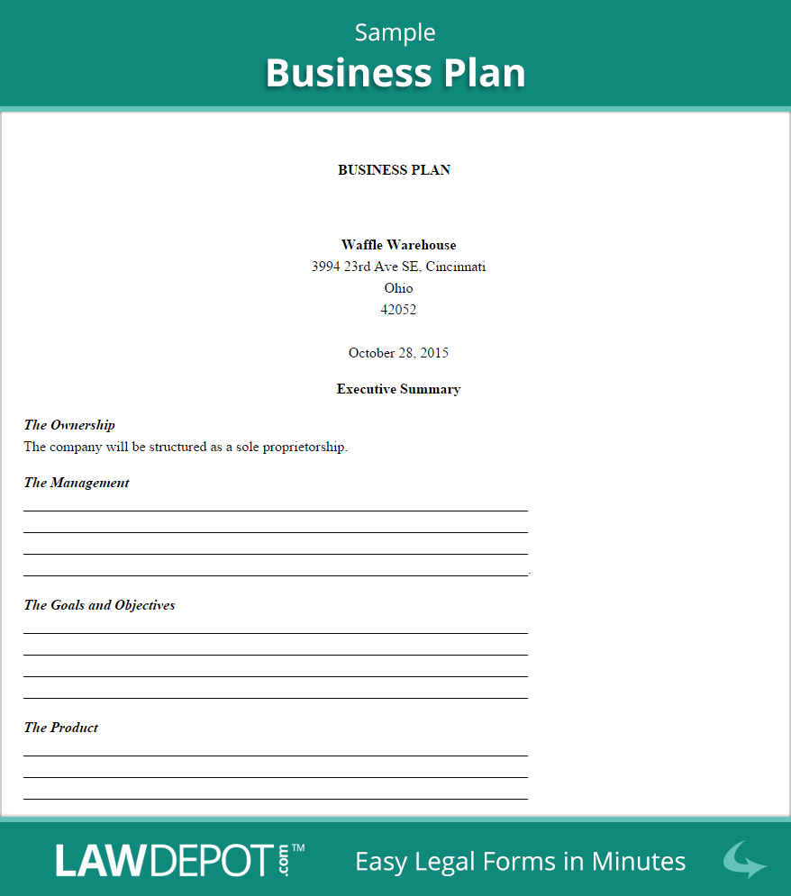 Sample Business Plan Fotolipcom Rich Image And Wallpaper - Small business plans template