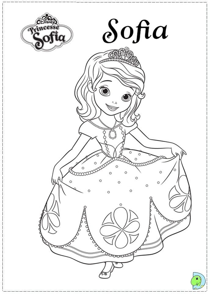 Sofia the First Coloring Pages | Fotolip.com Rich image and wallpaper